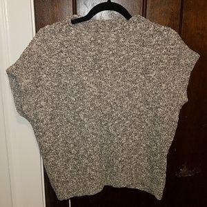 Anthropologie crop sweater